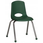 Classroom Chair - Chrome Legs (16