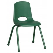 ECR Poly Classroom Chair - Colored Legs (16