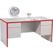 EE Double-Pedestal Teachers Desk - Laminate