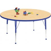 Educational Edge Round Activity Table with Ball Glides (48