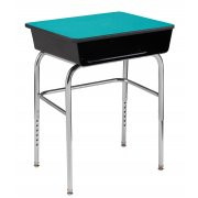 EE School Desk Metal Bookbox - U-Brace