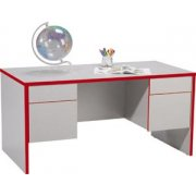 EE Double-Pedestal Teachers Desk - Laminate