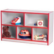Color-Banded Daycare Classroom Cubby Storage