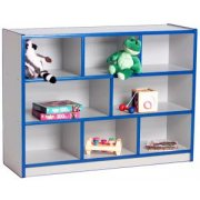Color-Banded Youth Classroom Cubby Storage