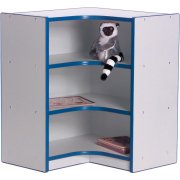 Color-Banded Youth Inside Corner Cubby Storage