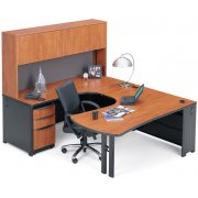 Endure Single Office with Left Credenza