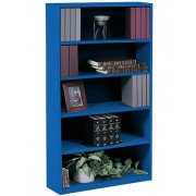 Extra Deep Educational Edge Steel Bookcase (3'Wx6'H)