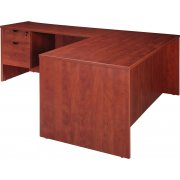 Contemporary L-Shaped Office Desk (66x72