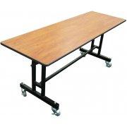 EZ-Tilt Mobile Folding Cafeteria Table (30