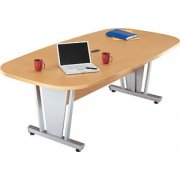 Europa Boat-Shaped Conference Table (94.5