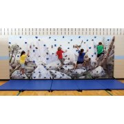 Everlast Standard Climbing Mural Wall Package (20x8')
