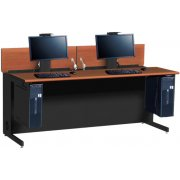 Flex Insight Double Computer Desk (72