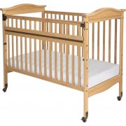 Biltmore SafeReach Full-Size Crib, Clearview