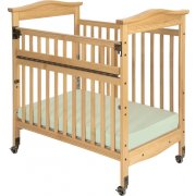 Biltmore SafeReach Compact Crib Clearview w/ Mattress