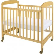 Serenity Fixed Side Crib Clearview w/ Mattress