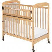 Serenity SafeReach Mirrored Compact Crib w/Mattress