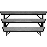 Tapered Riser with Carpet Capacity 12-16 (3 Level)