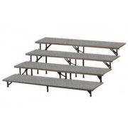 Straight Riser with Carpet Capacity 25-32 (4 Level)
