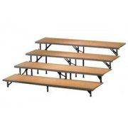 Straight Riser with Hardboard Capacity 25-32 (4 Level)