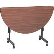Melamine Flip Top Table (24x48 Half-Round)