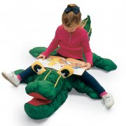 Crocodile Kids Animal Floor Cushion