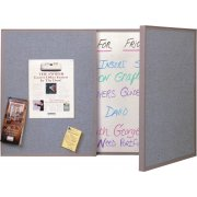 VisuALL Personal Tack-Whiteboard-Gray (3'x2')