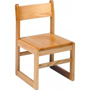 Sled-Base Library Chair (15.5
