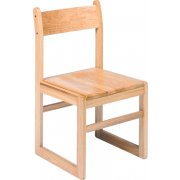 Sled-Base Library Chair (17.5