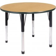 Hercules Adjustable Height Round Activity Table (42