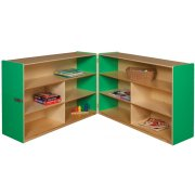 Healthy Kids Colors Hinged Double Storage Unit (36