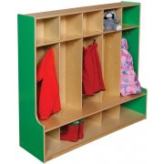 Healthy Kids Colors 5-Section Seat Locker (48