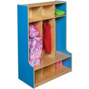 Healthy Kids Colors 3-Section Seat Locker