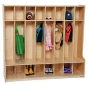 Healthy Kids Colors 8-Section Seat Locker