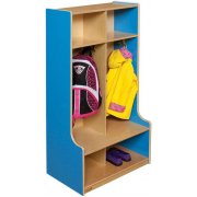 Healthy Kids Colors 2-Section Seat Locker