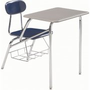 Combo Student Chair Desk - Hard Plastic Top, 19