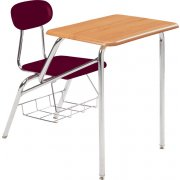 Combo Student Chair Desk - Woodstone Top, 14
