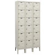 6-Tier Locker-3 Wide Assembled (12