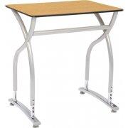Illustrations V2 Adj. Height Classroom Desk - Laminate Top
