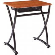 Illustrations V2 Open Front School Desk- Hard Plastic (26.5
