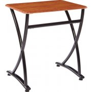 Illustrations V2 Classroom Desk - WoodStone Top (26.5