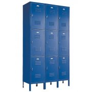 3-WideTriple Tier Locker