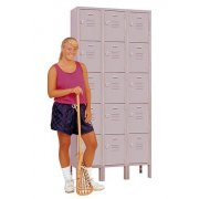 3-Wide Five Tier Locker (45