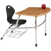Inspiration Student Combo Desk - WoodStone Top (14