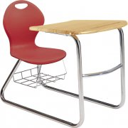 Inspiration Student Chair Desk - Sled Base (18