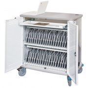 InTouch 40 Tablet Cart w/ Cord Wrap
