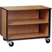 Low Storage Unit with 1 Adj Shelf & No Doors