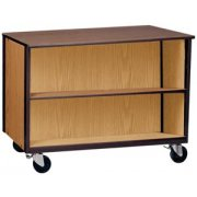 Storage Unit Double Faced - 1 Adj Shelf Per Side
