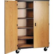 Genesis Team Unit-4 Adj Shelves&Locking Doors
