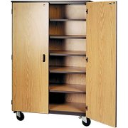 General Storage Unit-5 Shelves & Locking Doors