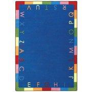 Rainbow Alphabet Classroom Rug (3'10